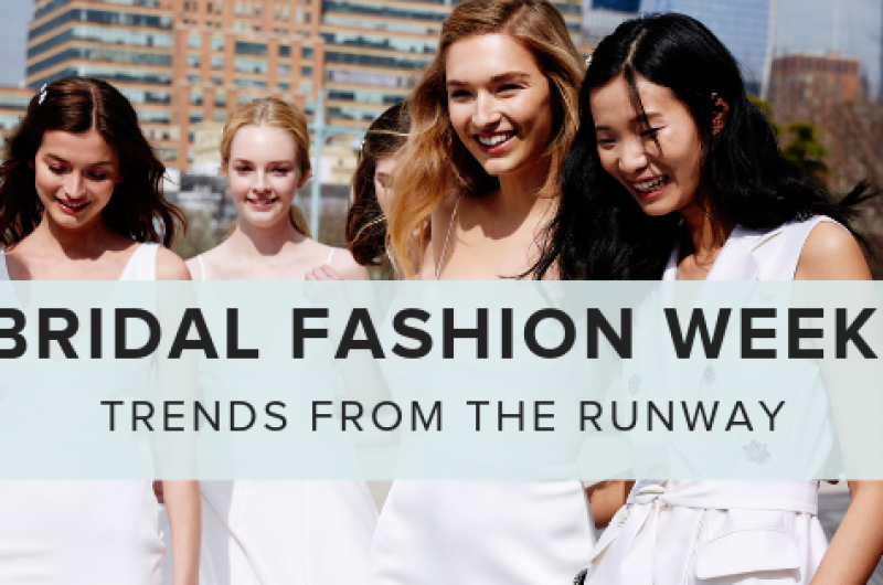 Image for 5 Top Trends from New York Bridal Fashion Week Spring 2020