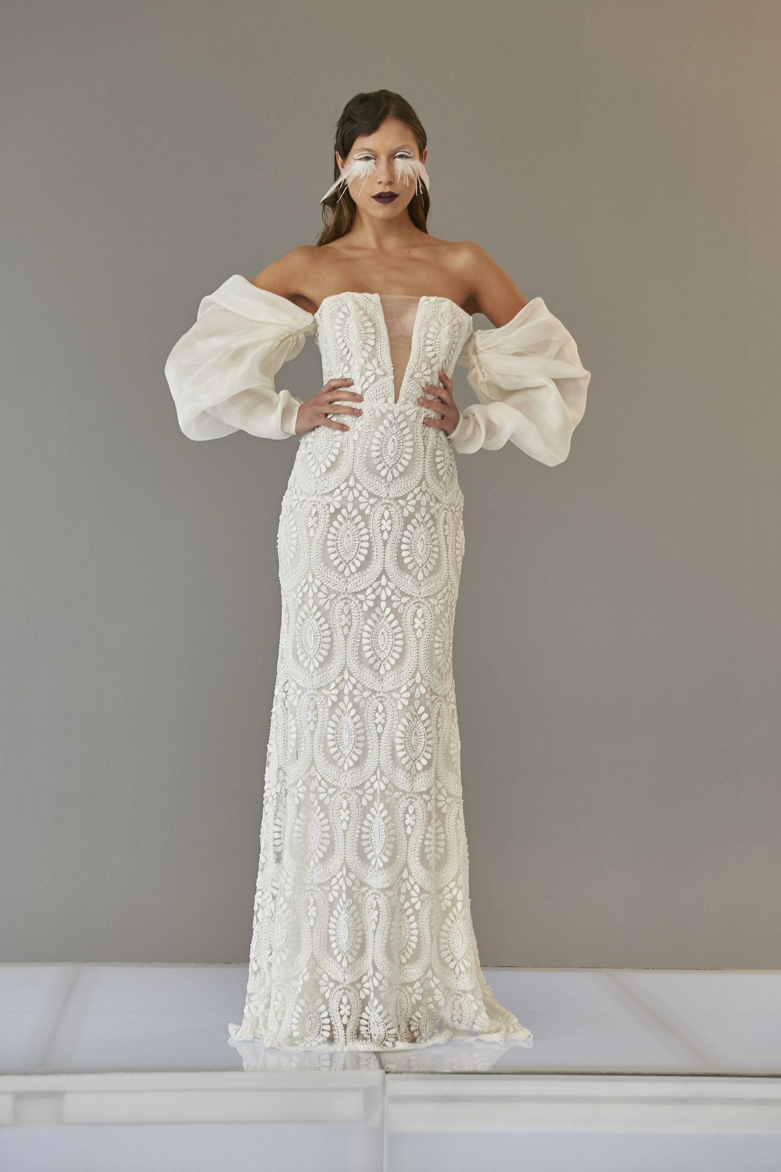 Spring 2020 Wedding Dress Trends Puffy Sleeves Francesca Miranda