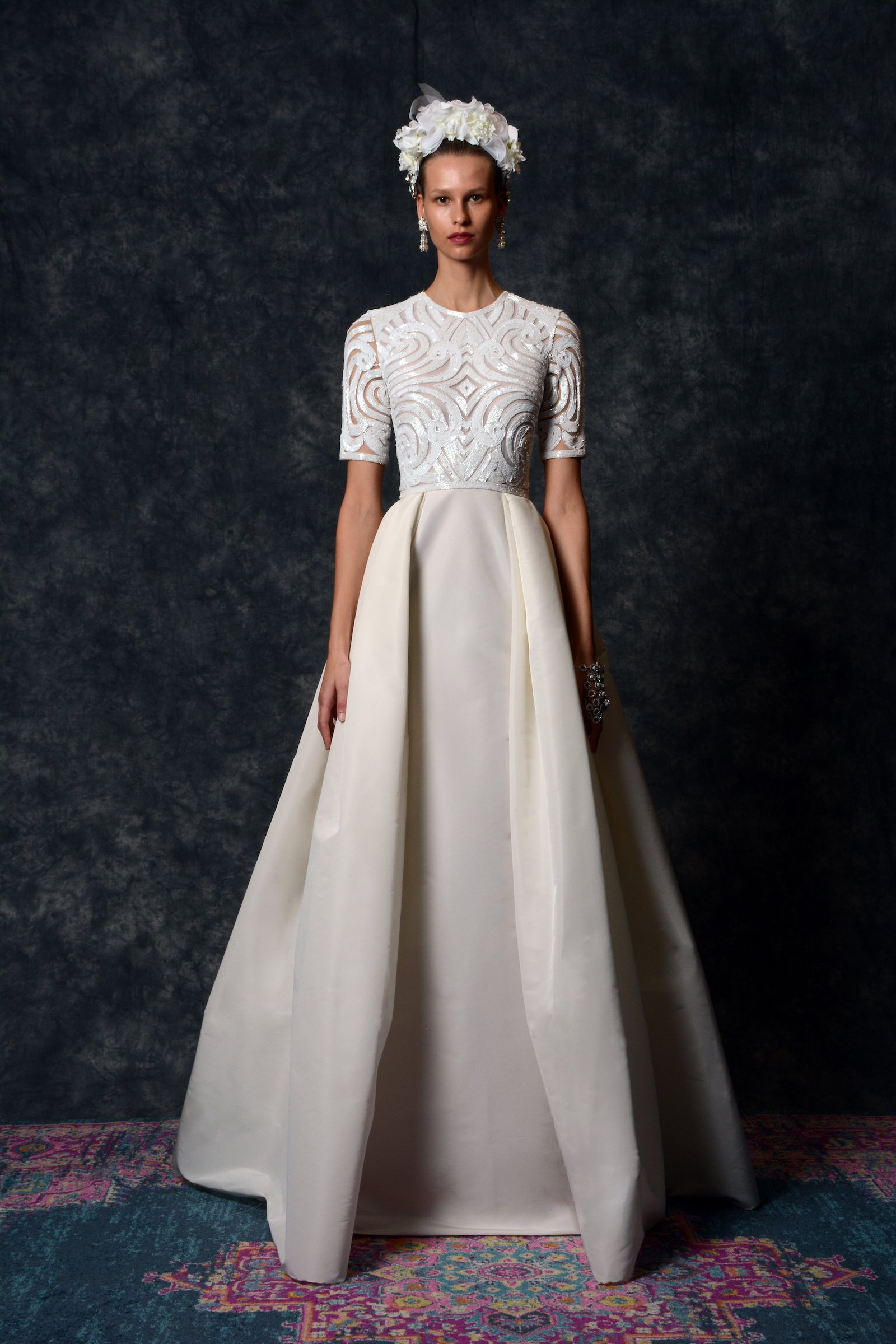 T-Shirt Wedding Dress Trend Spring 2020 Bridal Naeem Khan