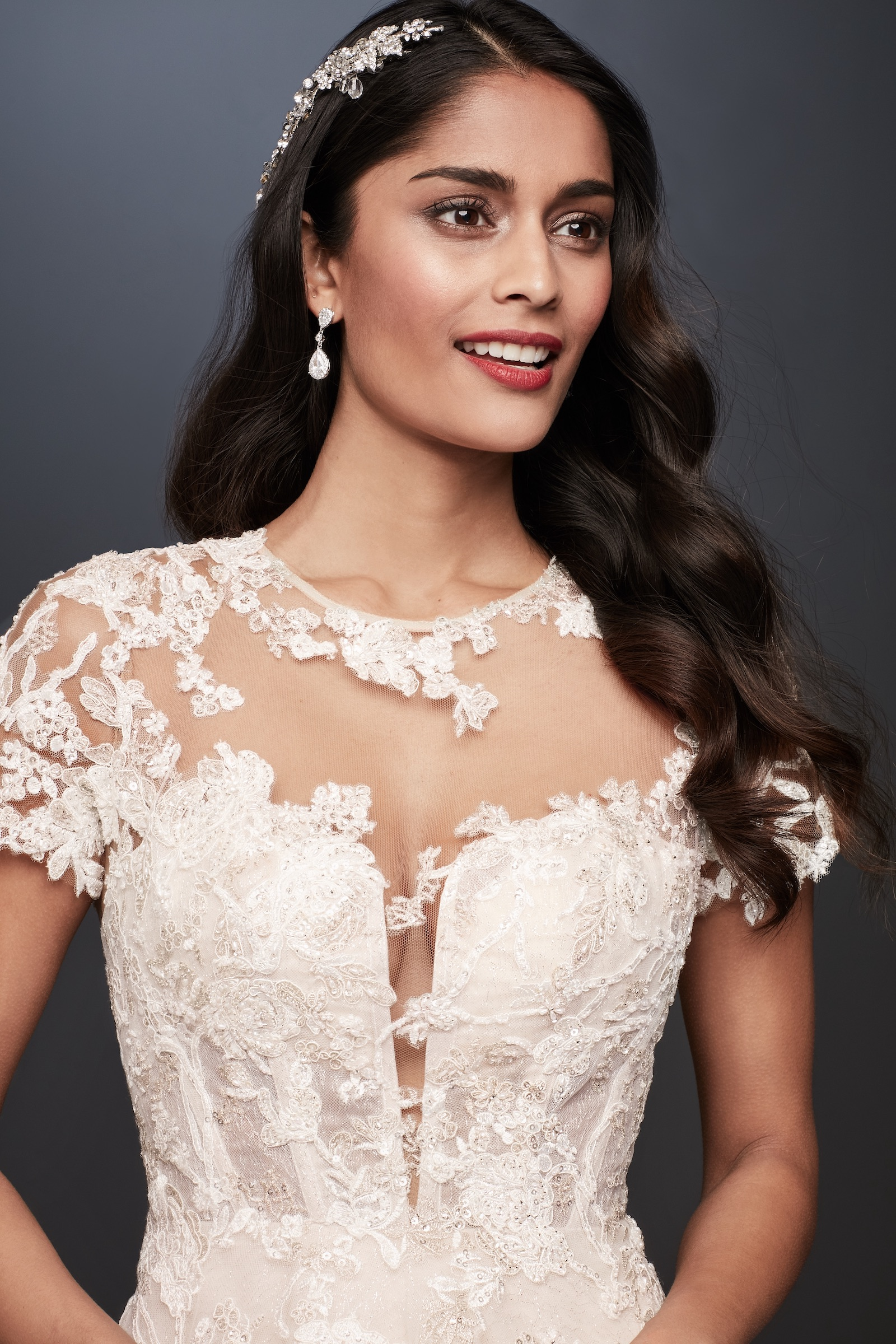 T-Shirt Sleeve Wedding Dress Trend David's Bridal