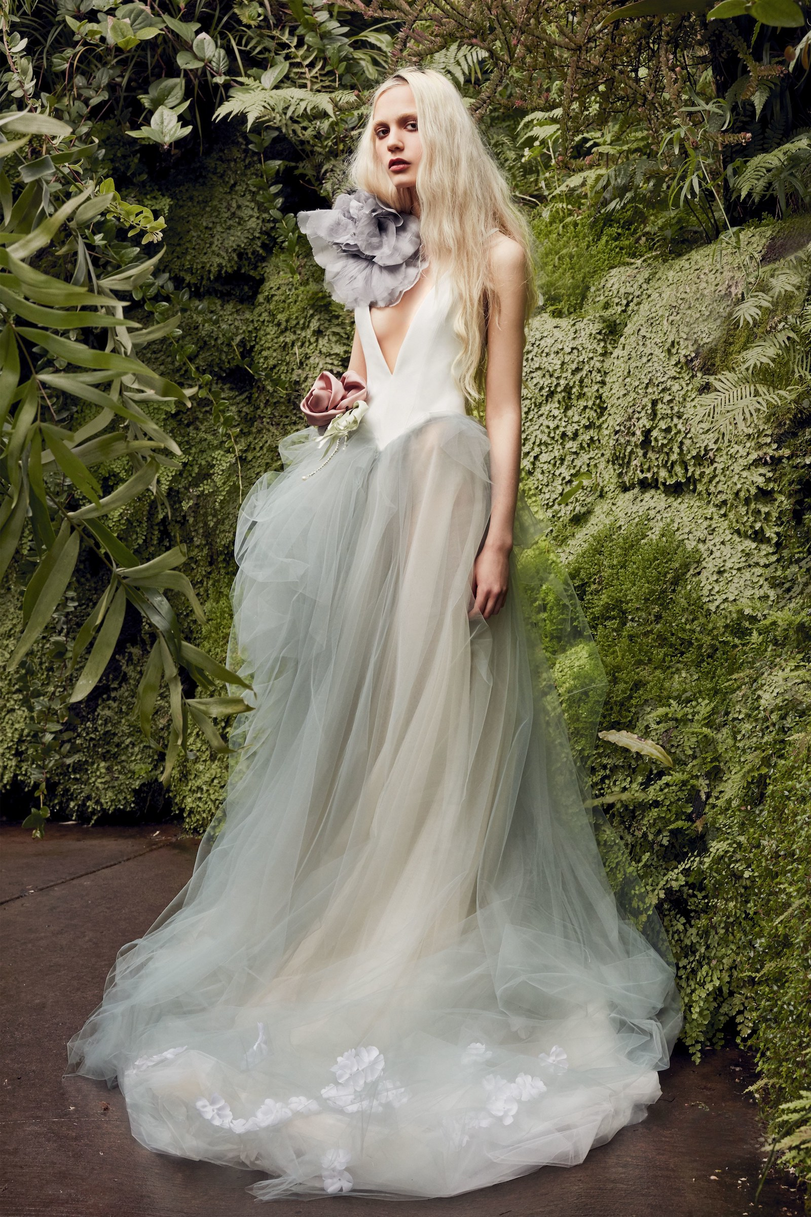 Vera Wang Spring Bridal 2020 Wedding Dress Trends Oversized Details