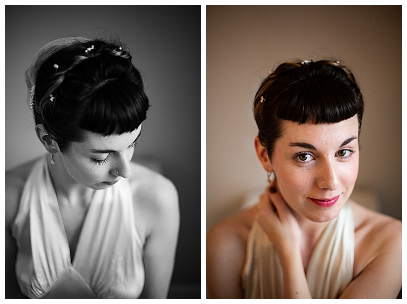 Vintage Bridal Beauty
