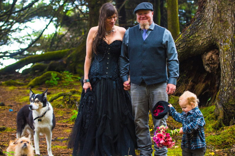 Image for A Magical Elopement in a Moss-Covered Forest