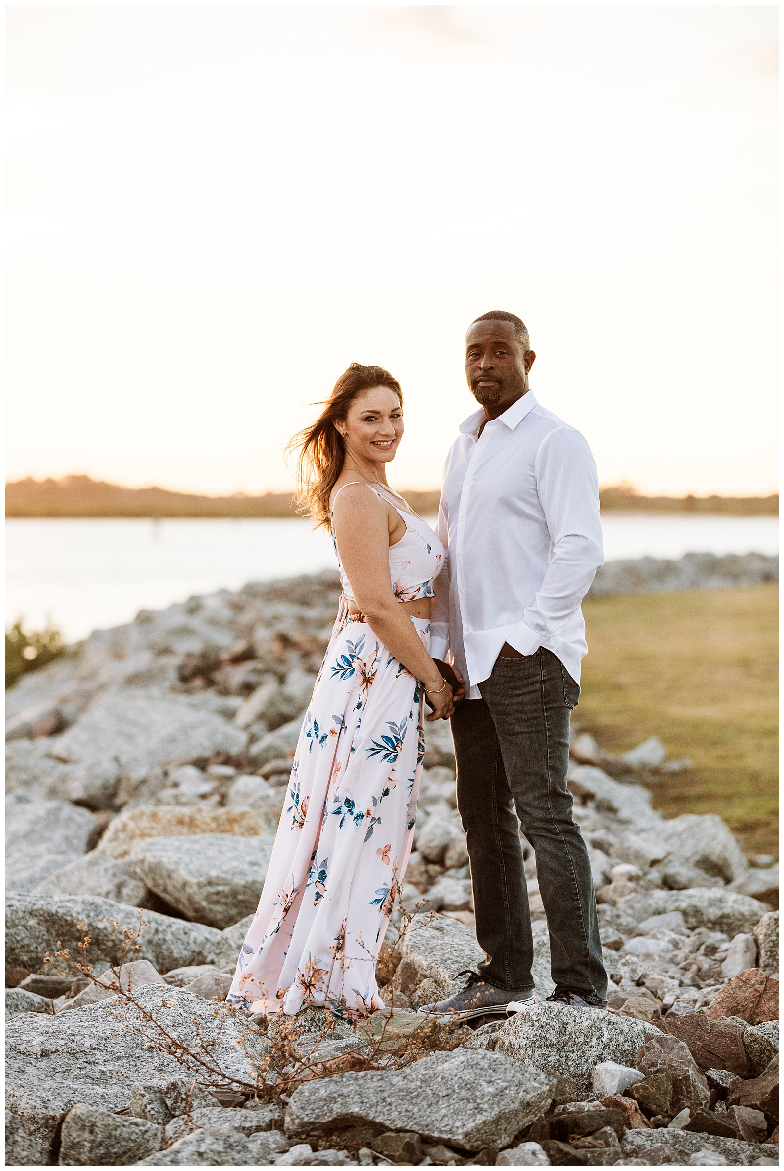 Florida Beach Engagement Shoot