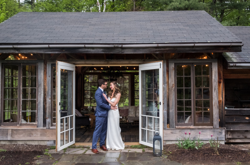 Image for This Rainy Day Wedding in the Catskills Is Pure Romance