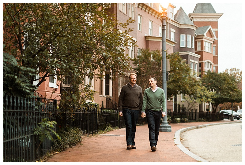 Gay D.C. Engagement Shoot-