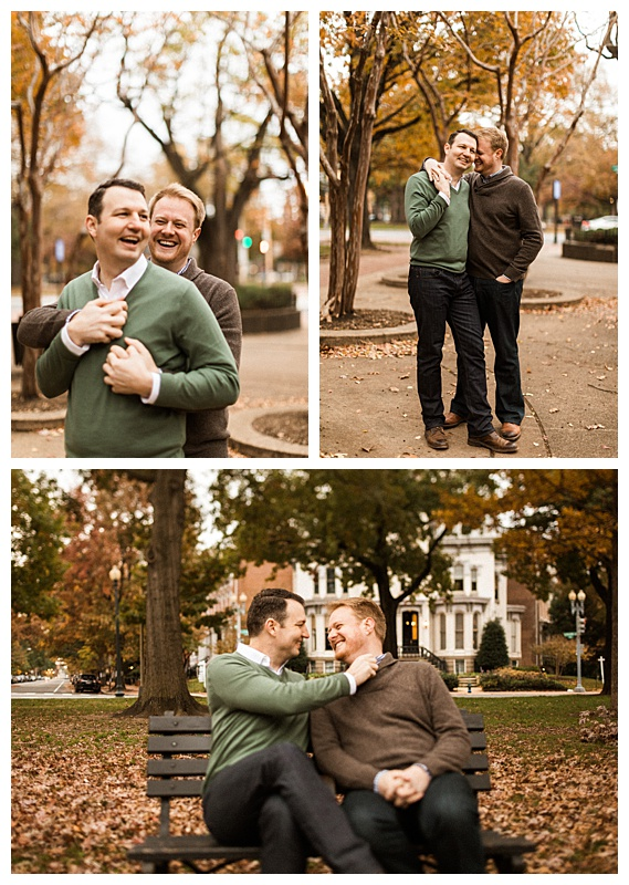 Gay D.C. Engagement Shoot