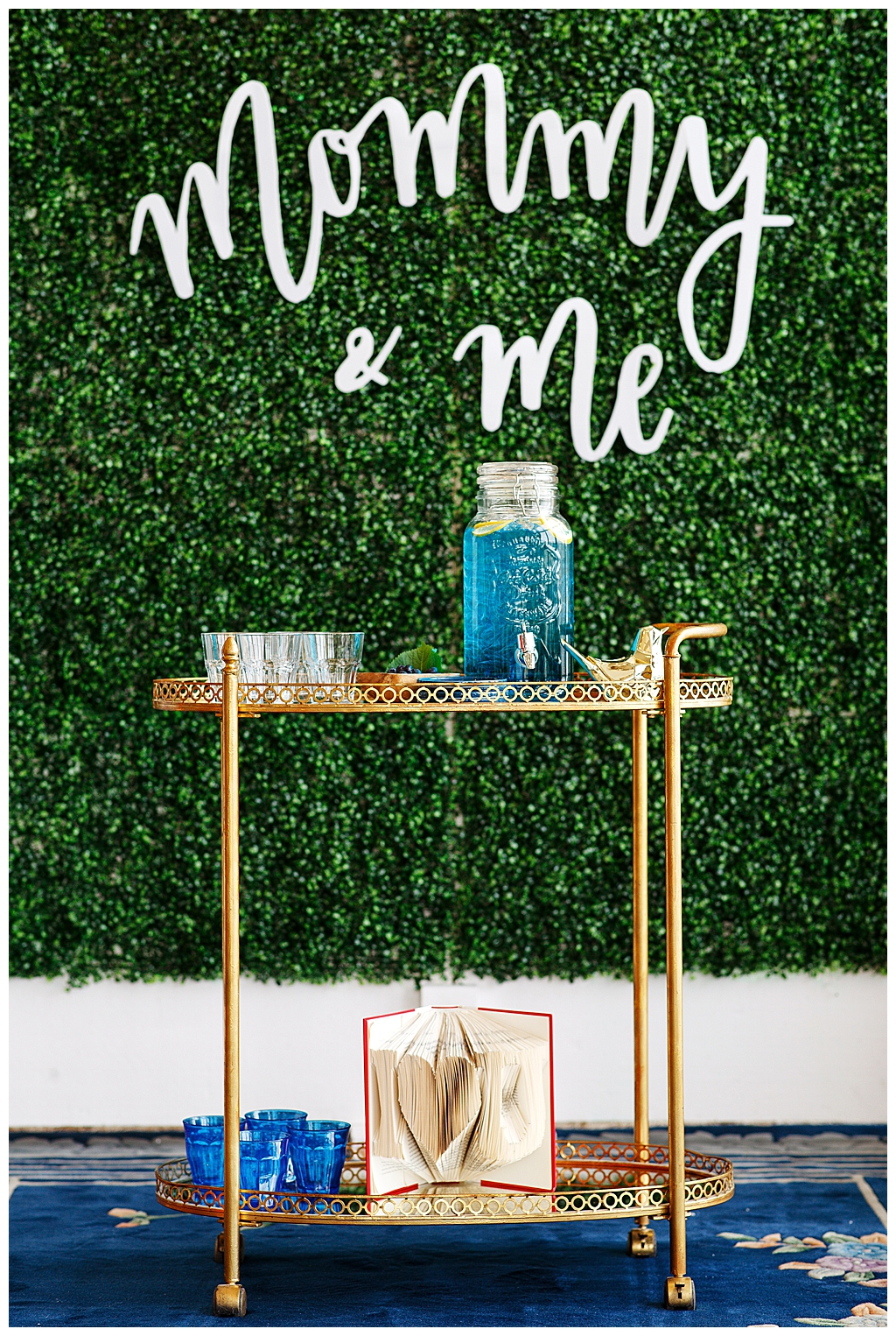 Mommy and Me Bar Cart Brunch Inspiration