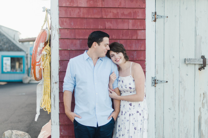 Image for This Seaside Town Engagement Shoot Is Full of Charm