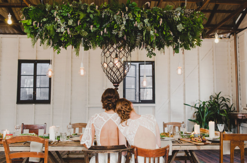 Image for Gorgeously Effortless Gather & Feast Wedding Inspo with Boho Style