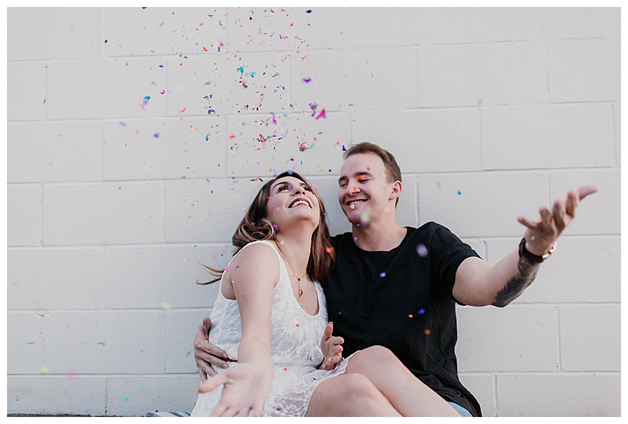 confetti-toss-engagement-photos