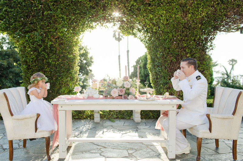 Image for An Oh-So-Sweet Daddy-and-Daughter Tea Party for Fathers' Day