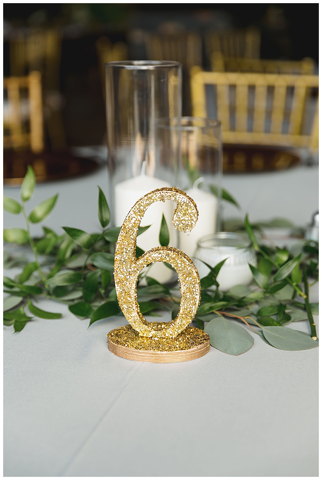 glitter-wedding-table-number