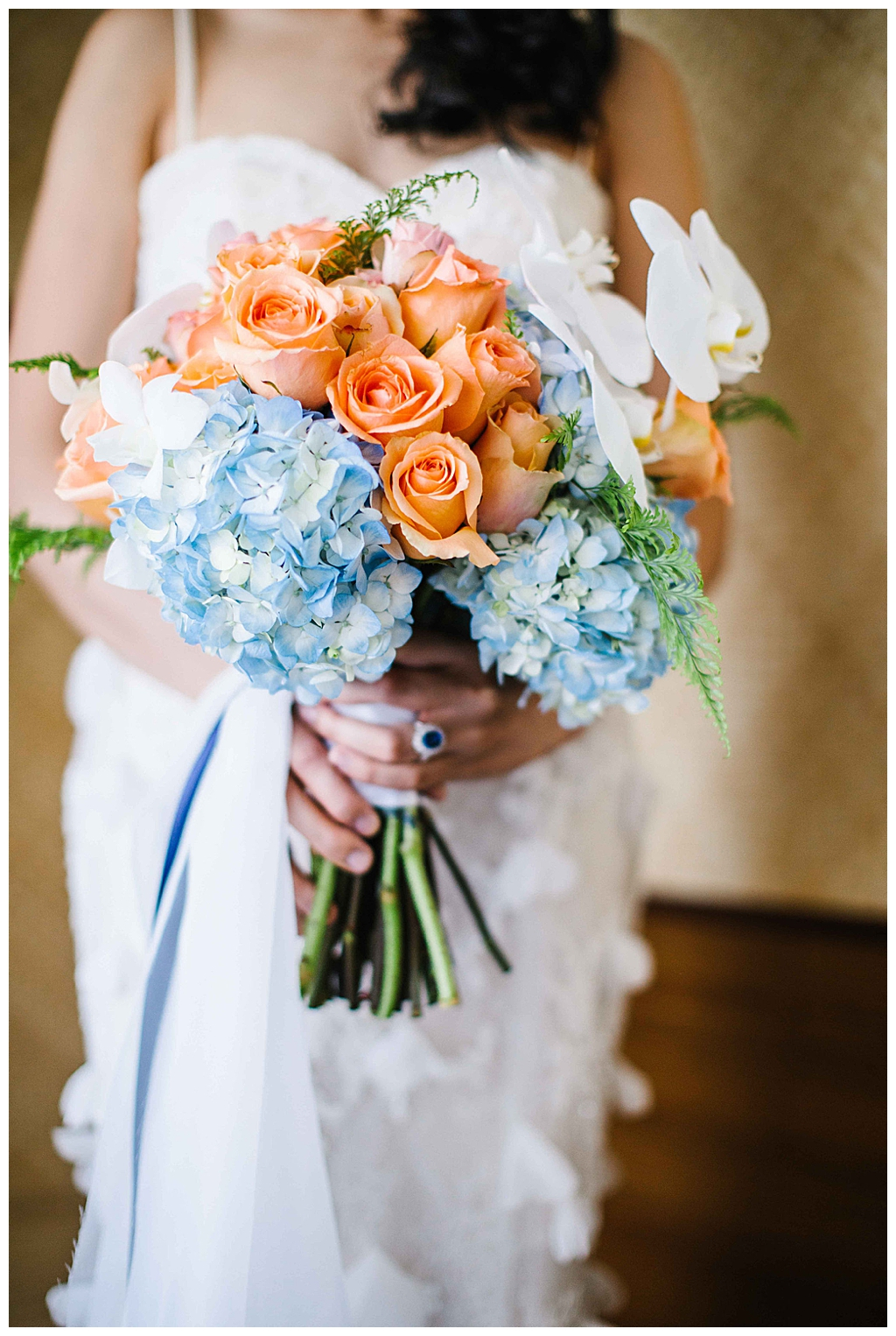 hydrangea-and-rose-bouquet