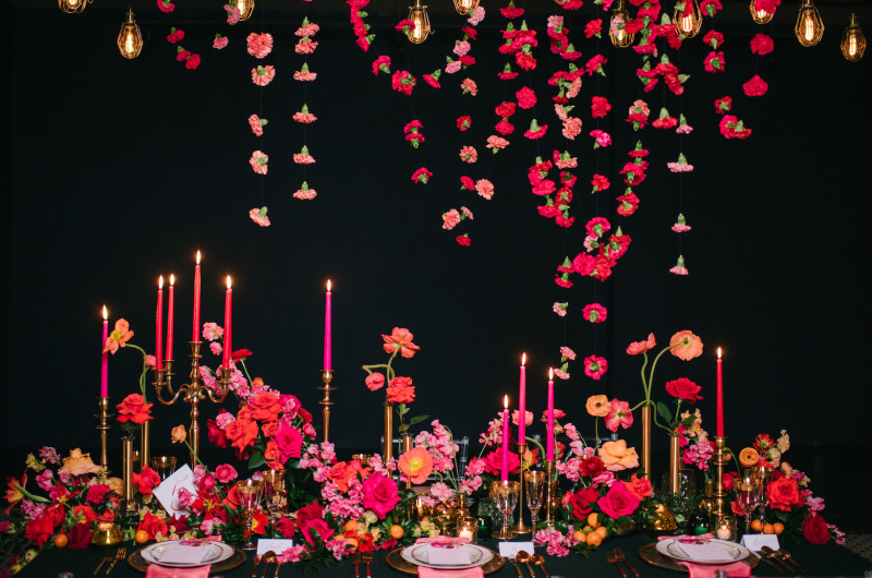 Image for Vibrant Wedding Inspiration That POPS Off the Page