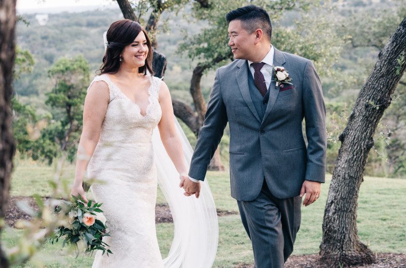 Image for Texas Hill Country Wedding with a Romantic Aesthetic
