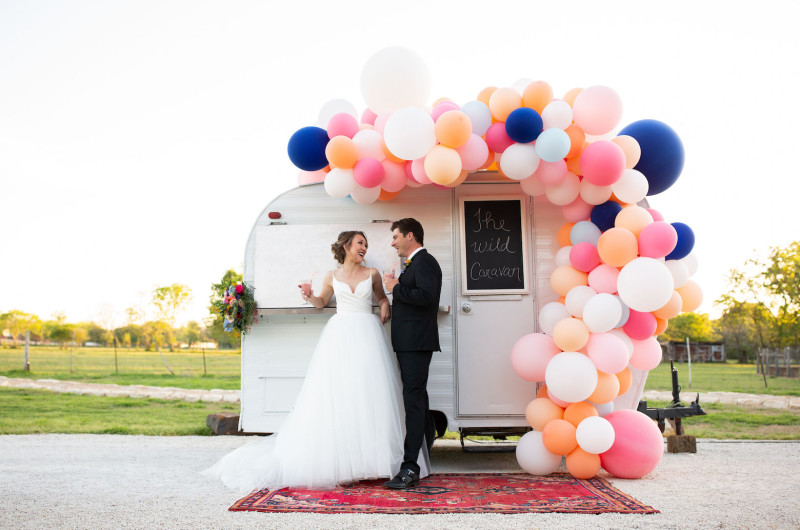 Image for Colorful and Playful Wedding Inspiration for the Fun-Loving Couple