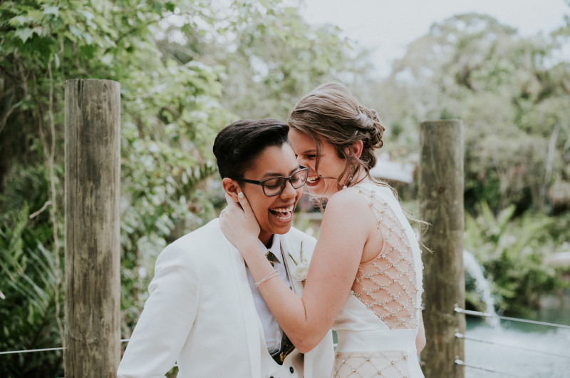 Image for A DIY Wedding at the Zoo With Animals Galore!