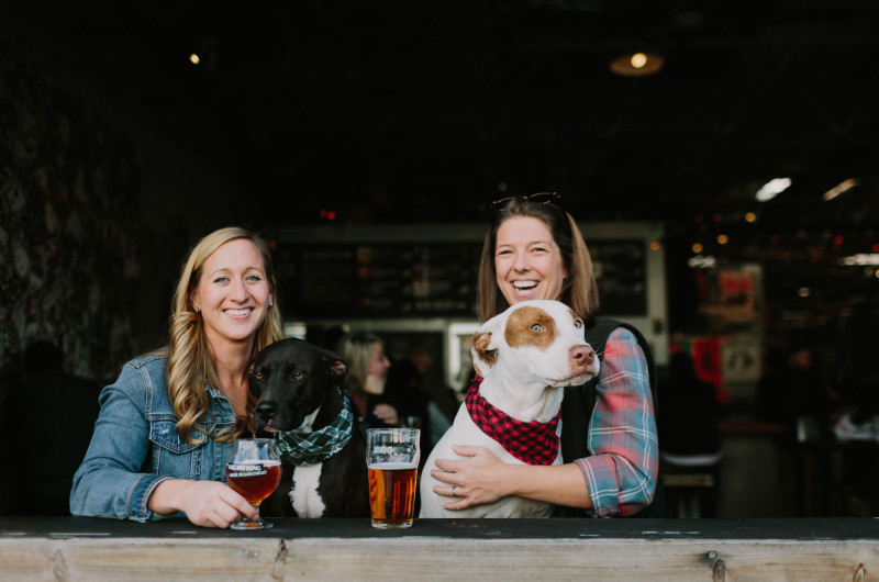 Image for An Engagement Shoot with Pups and Brews!