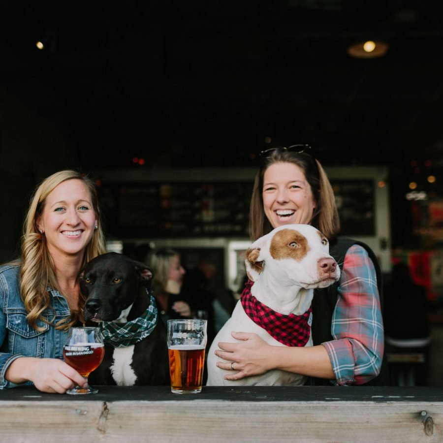 Brewery Engagement Shoot