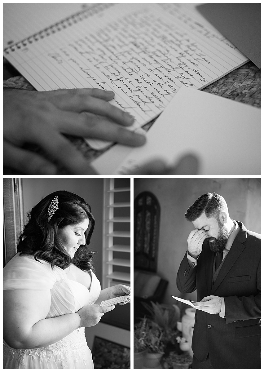 bride-and-groom-letters