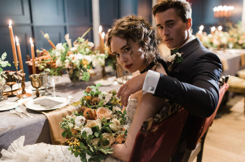 Image for This Moody Edwardian Styled Shoot Is Oh-So-Sexy