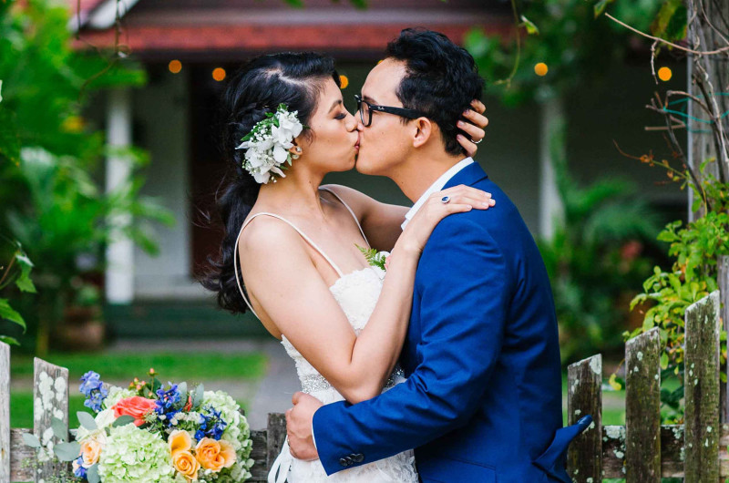 Image for A Beautiful Beach and Garden Wedding in Hawaii