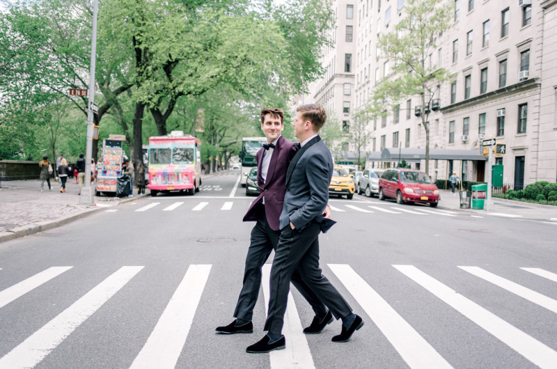 Image for A Modern Spring Wedding in New York City