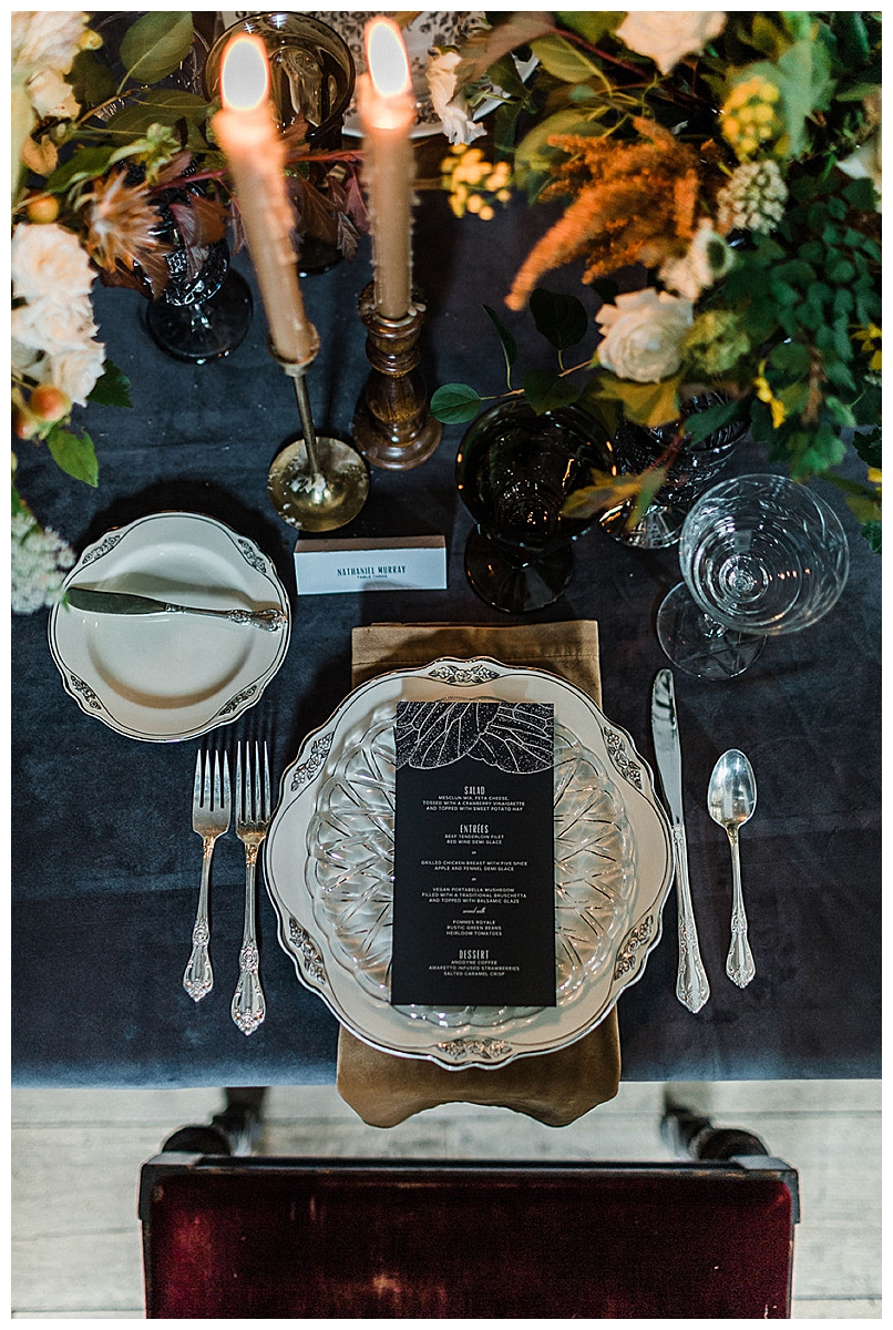 Lush + Moody Edwardian Wedding Inspiration