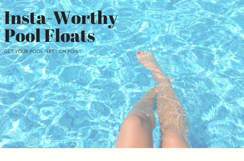 Image for Get Your Pool Fleet on Point With These 10 Pool Floats