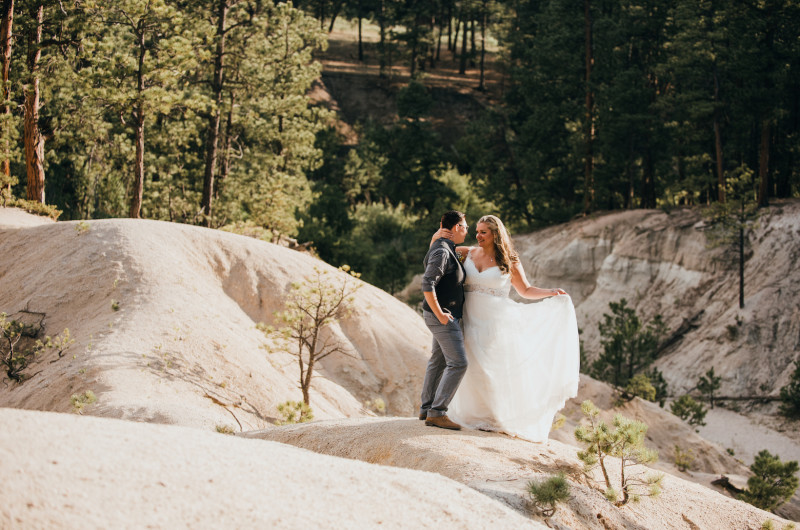 Image for A DIY Rustic Wedding in the Colorado Wilderness
