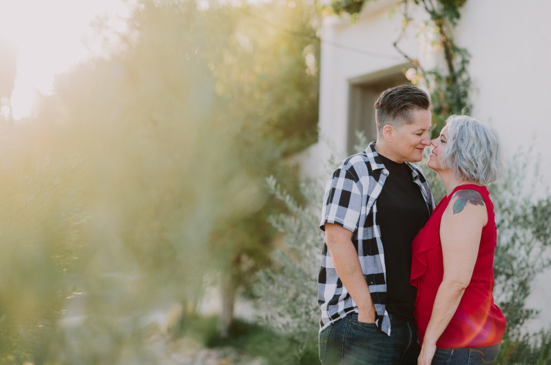 Image for Golden Hour San Diego Engagement Shoot With an Incredible Proposal Story