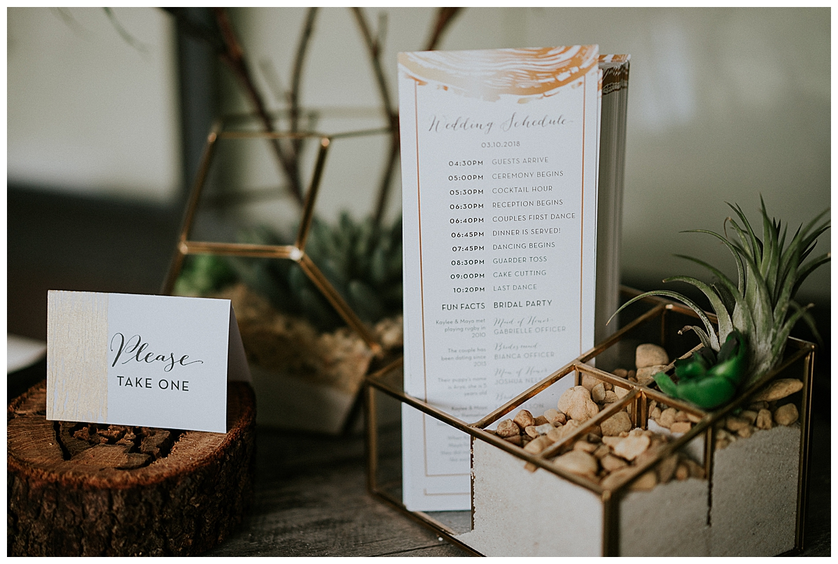 wedding-ceremony-program-display