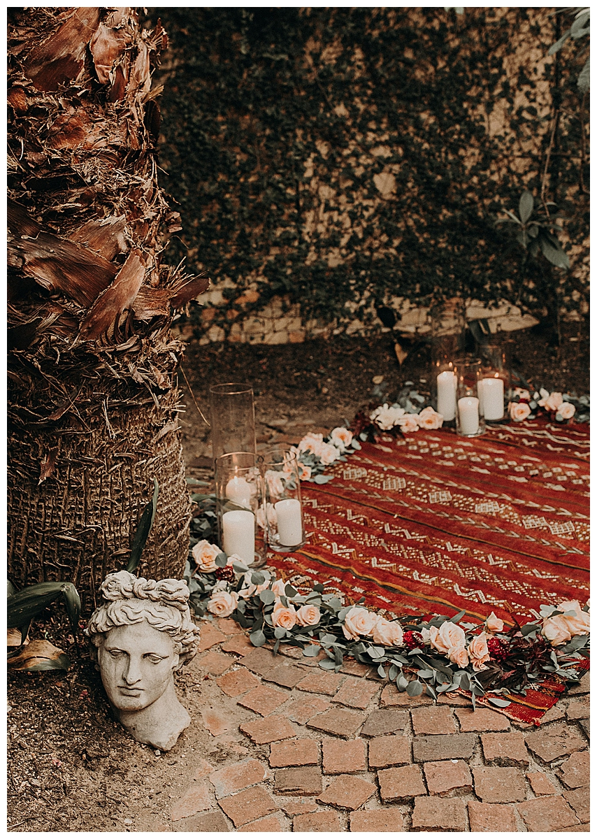 wedding-ceremony-setting-with-a-rug