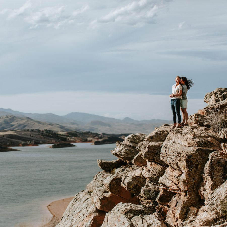 Colorado Engagement Session in the Mountains