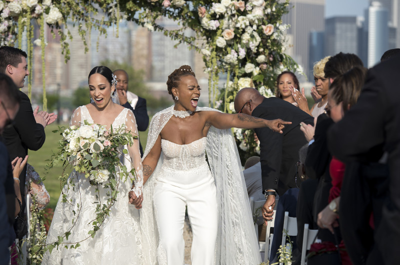 Image for These Brides Met Because of Beyoncé and Had the Most Epic Wedding