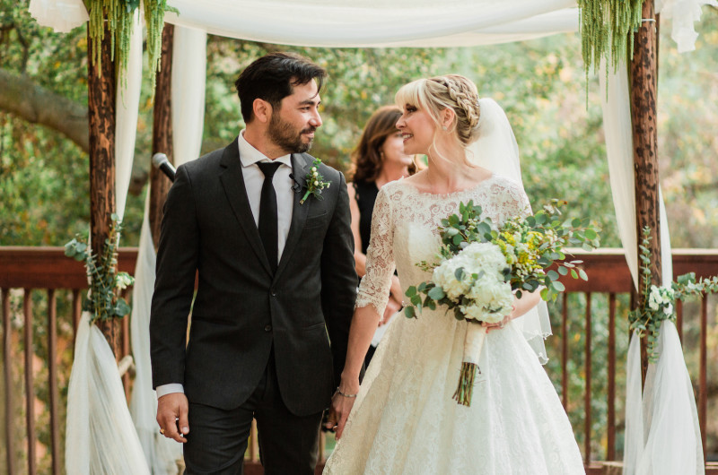 Image for A Romantic Wedding in Topanga Canyon