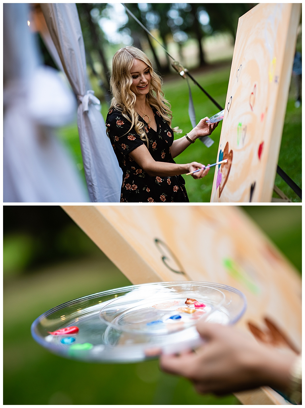 Painting Wedding Entertainment