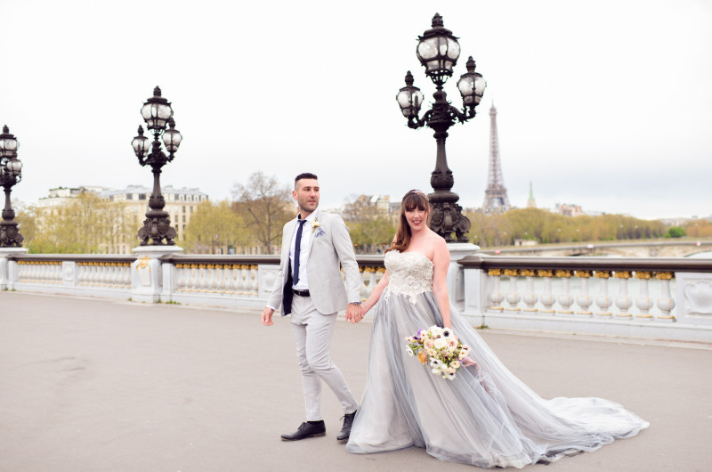 Image for A Styled Engagement Shoot in Paris