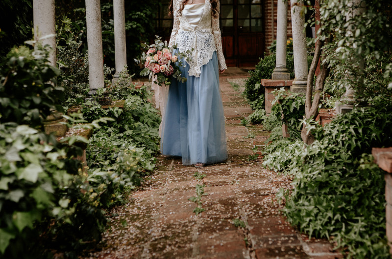 Image for This Secret Garden Wedding Inspiration Will Enchant You