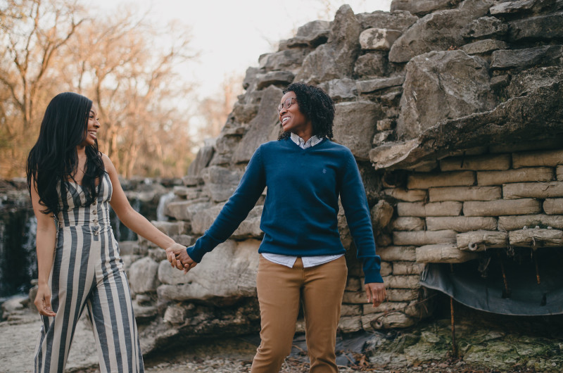 Image for This Engagement Shoot Is Filled With Smiles and Style!
