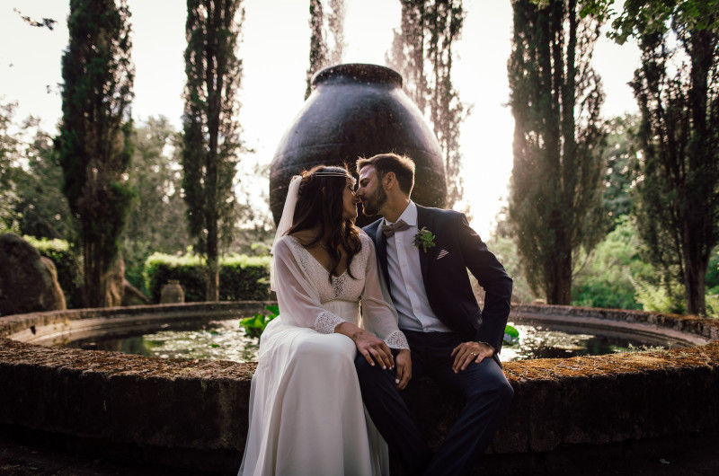 Image for The Garden Wedding in Rome Is the Perfect Balance of Emotions and Party!