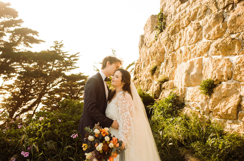 Image for Intimate Wedding in San Francisco's Historic Sutro Heights Park