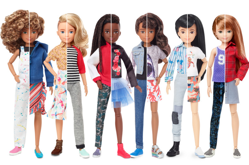 Image for Mattel Launches Gender-Inclusive Doll Line