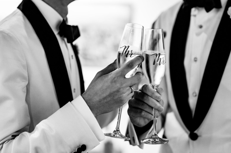 Image for 10 Same-Sex Glassware for Your First Toast as Newlyweds