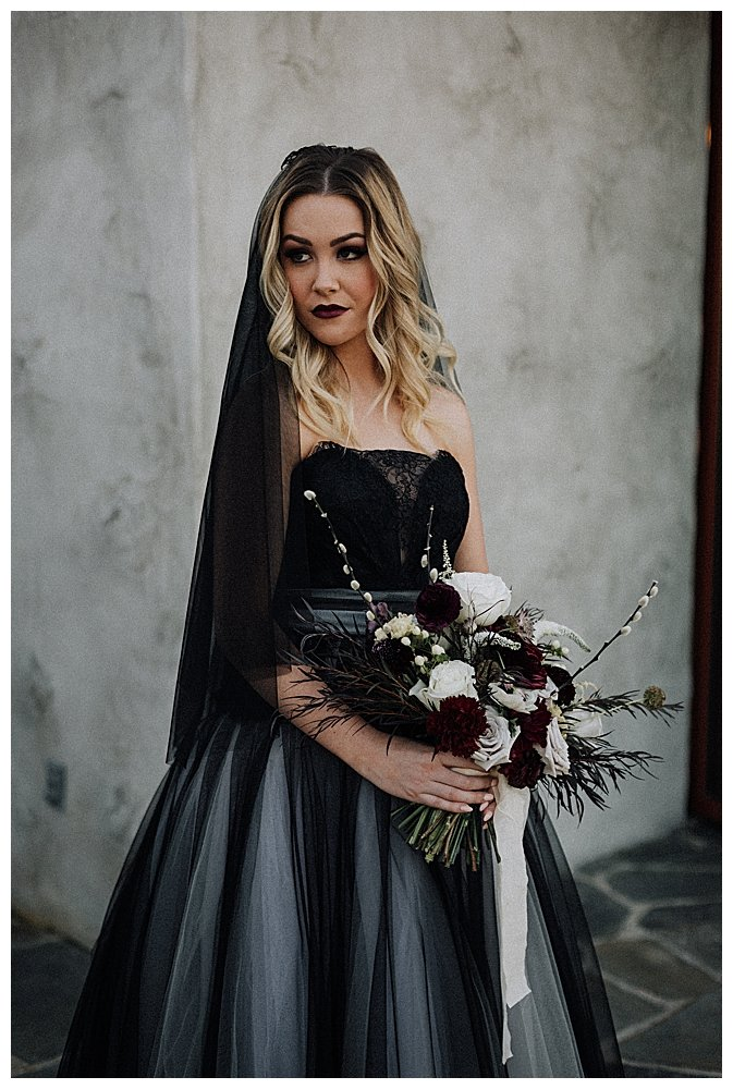 black-bridal-wedding-dress