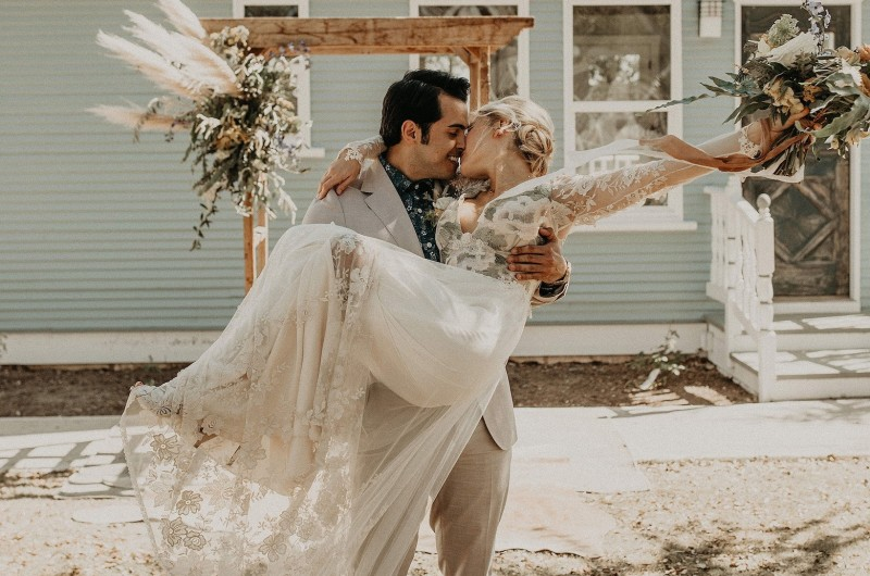 Image for Modernized Texas Western Wedding Style