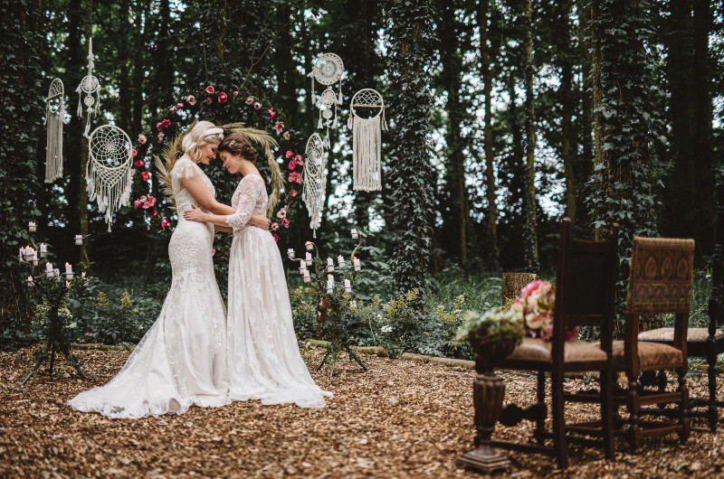 Image for Romantic French Chateau Wedding in the Woods