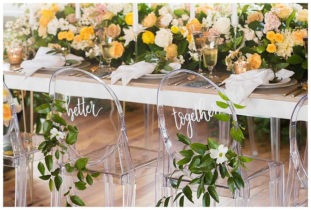 ghost-chairs-wedding-reception-chair-signage