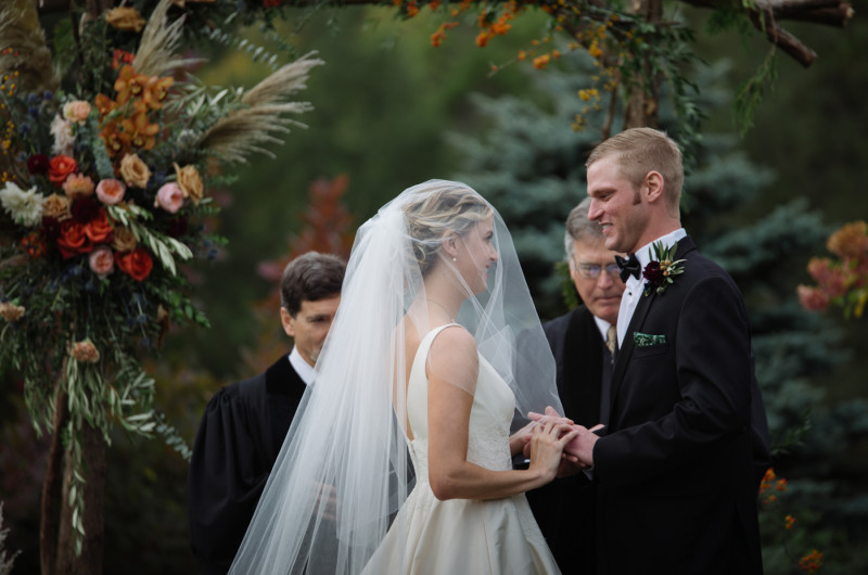 Image for A Vermont Destination Wedding at the Peak of Fall Foliage